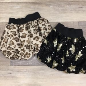 2 pc bundle! CP puffy skirts size 5/6